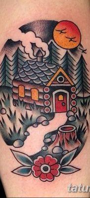 фото тату в стиле олд скул от 21.08.2017 №113 – Old school tattoo – tatufoto.com