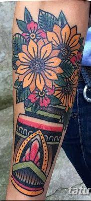 фото тату в стиле олд скул от 21.08.2017 №118 – Old school tattoo – tatufoto.com