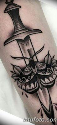 фото тату в стиле олд скул от 21.08.2017 №119 – Old school tattoo – tatufoto.com
