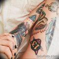 фото тату в стиле олд скул от 21.08.2017 №121 - Old school tattoo - tatufoto.com