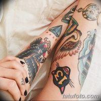 Значение тату олд скул (Old school tattoo)