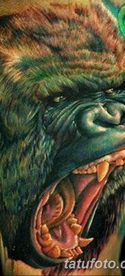 фото тату горилла от 27.08.2017 №006 – Gorilla tattoo – tatufoto.com