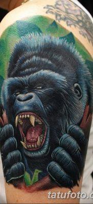 фото тату горилла от 27.08.2017 №007 – Gorilla tattoo – tatufoto.com