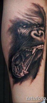 фото тату горилла от 27.08.2017 №012 – Gorilla tattoo – tatufoto.com