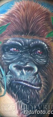 фото тату горилла от 27.08.2017 №023 – Gorilla tattoo – tatufoto.com