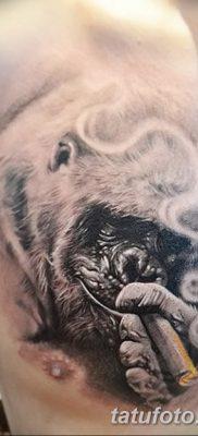 фото тату горилла от 27.08.2017 №025 – Gorilla tattoo – tatufoto.com