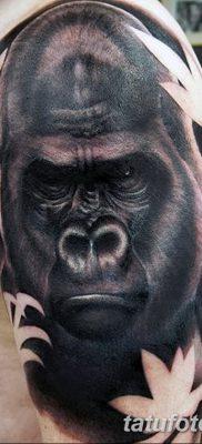 фото тату горилла от 27.08.2017 №029 – Gorilla tattoo – tatufoto.com