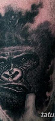 фото тату горилла от 27.08.2017 №047 – Gorilla tattoo – tatufoto.com