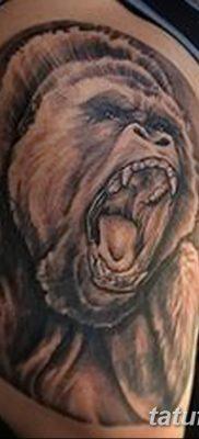 фото тату горилла от 27.08.2017 №050 – Gorilla tattoo – tatufoto.com