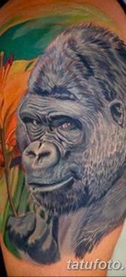 фото тату горилла от 27.08.2017 №051 – Gorilla tattoo – tatufoto.com