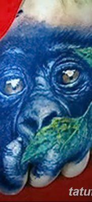 фото тату горилла от 27.08.2017 №129 – Gorilla tattoo – tatufoto.com