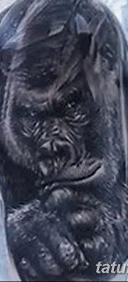 фото тату горилла от 27.08.2017 №130 – Gorilla tattoo – tatufoto.com