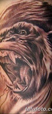 фото тату горилла от 27.08.2017 №135 – Gorilla tattoo – tatufoto.com