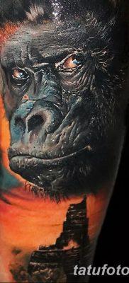 фото тату горилла от 27.08.2017 №137 – Gorilla tattoo – tatufoto.com