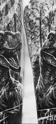 фото тату динозавр от 18.08.2017 №118 – Dinosaur tattoo_tatufoto.com
