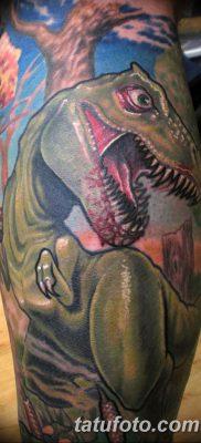 фото тату динозавр от 18.08.2017 №122 – Dinosaur tattoo_tatufoto.com