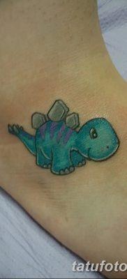 фото тату динозавр от 18.08.2017 №127 – Dinosaur tattoo_tatufoto.com