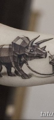 фото тату динозавр от 18.08.2017 №137 – Dinosaur tattoo_tatufoto.com