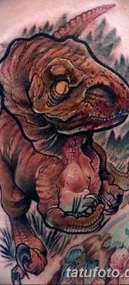 фото тату динозавр от 18.08.2017 №138 – Dinosaur tattoo_tatufoto.com