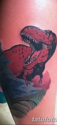 фото тату динозавр от 18.08.2017 №143 – Dinosaur tattoo_tatufoto.com