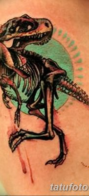 фото тату динозавр от 18.08.2017 №146 – Dinosaur tattoo_tatufoto.com