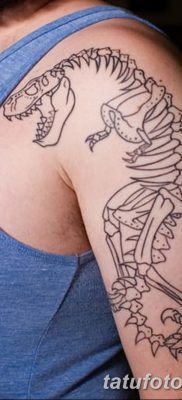 фото тату динозавр от 18.08.2017 №163 – Dinosaur tattoo_tatufoto.com