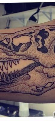 фото тату динозавр от 18.08.2017 №176 – Dinosaur tattoo_tatufoto.com