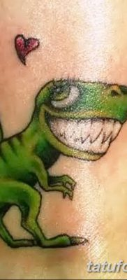 фото тату динозавр от 18.08.2017 №179 – Dinosaur tattoo_tatufoto.com