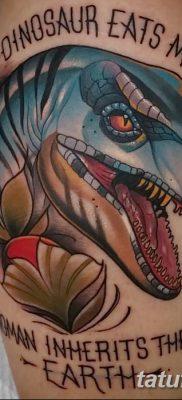 фото тату динозавр от 18.08.2017 №182 – Dinosaur tattoo_tatufoto.com