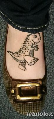 фото тату динозавр от 18.08.2017 №183 – Dinosaur tattoo_tatufoto.com