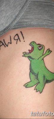 фото тату динозавр от 18.08.2017 №194 – Dinosaur tattoo_tatufoto.com