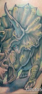 фото тату динозавр от 18.08.2017 №201 – Dinosaur tattoo_tatufoto.com