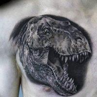 Значение тату динозавр