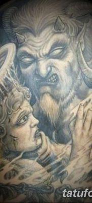 фото тату дьявол от 25.08.2017 №003 – Tattoo 13 – Devil tattoo – tatufoto.com