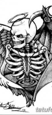 фото тату дьявол от 25.08.2017 №005 – Tattoo 13 – Devil tattoo – tatufoto.com