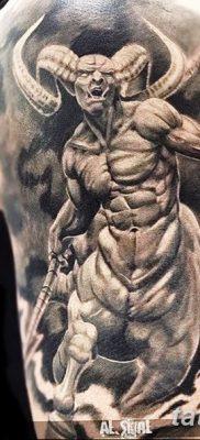 фото тату дьявол от 25.08.2017 №006 – Tattoo 13 – Devil tattoo – tatufoto.com