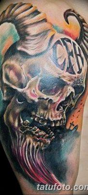 фото тату дьявол от 25.08.2017 №010 – Tattoo 13 – Devil tattoo – tatufoto.com