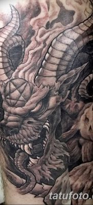 фото тату дьявол от 25.08.2017 №021 – Tattoo 13 – Devil tattoo – tatufoto.com