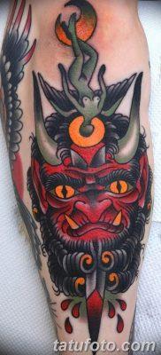фото тату дьявол от 25.08.2017 №024 – Tattoo 13 – Devil tattoo – tatufoto.com