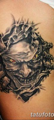 фото тату дьявол от 25.08.2017 №026 – Tattoo 13 – Devil tattoo – tatufoto.com