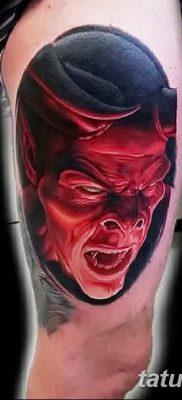 фото тату дьявол от 25.08.2017 №032 – Tattoo 13 – Devil tattoo – tatufoto.com