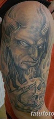 фото тату дьявол от 25.08.2017 №034 – Tattoo 13 – Devil tattoo – tatufoto.com