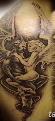 фото тату дьявол от 25.08.2017 №041 – Tattoo 13 – Devil tattoo – tatufoto.com