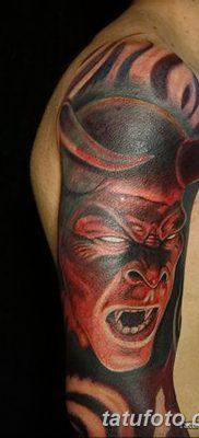 фото тату дьявол от 25.08.2017 №042 – Tattoo 13 – Devil tattoo – tatufoto.com