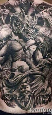 фото тату дьявол от 25.08.2017 №043 – Tattoo 13 – Devil tattoo – tatufoto.com