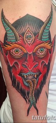 фото тату дьявол от 25.08.2017 №046 – Tattoo 13 – Devil tattoo – tatufoto.com