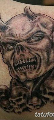 фото тату дьявол от 25.08.2017 №051 – Tattoo 13 – Devil tattoo – tatufoto.com