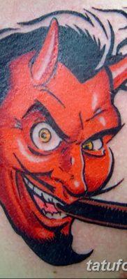 фото тату дьявол от 25.08.2017 №055 – Tattoo 13 – Devil tattoo – tatufoto.com