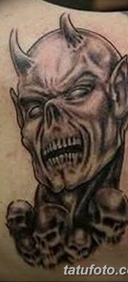 фото тату дьявол от 25.08.2017 №057 – Tattoo 13 – Devil tattoo – tatufoto.com