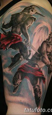 фото тату дьявол от 25.08.2017 №059 – Tattoo 13 – Devil tattoo – tatufoto.com
